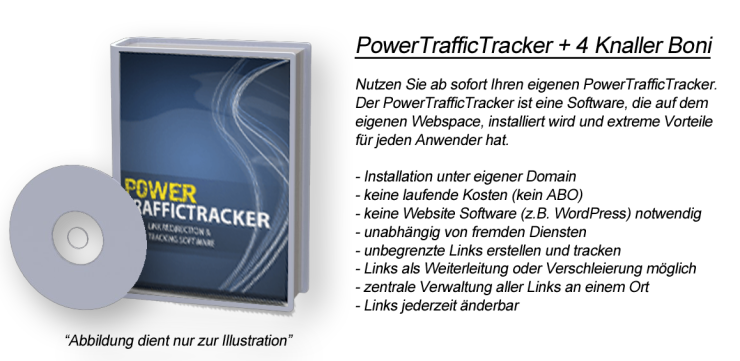 PowerTrafficTracker + 4 Knaller Boni