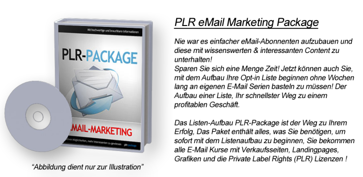 PLR eMail Marketing Package