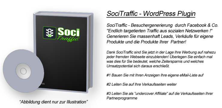 SociTraffic - WordPress Plugin