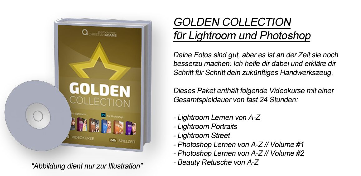 GOLDEN COLLECTION für Lightroom und Photoshop